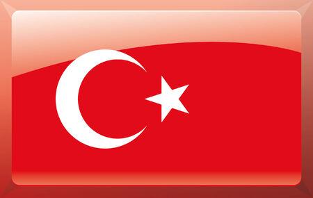 Turkey flag Illustration