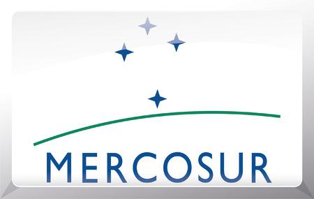Flag of Mercosul Stock Vector - 27699850
