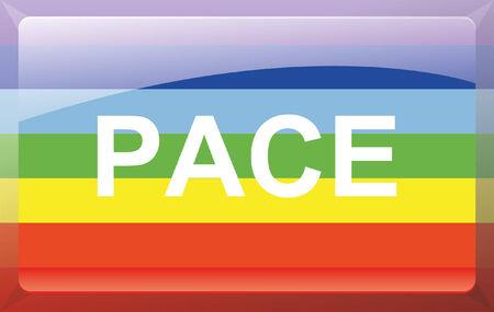 Peace Flag Stock Vector - 27699855