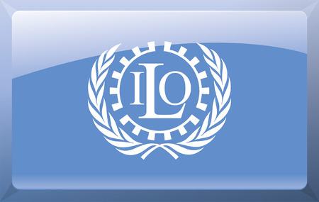 treaty: International Labour Organization Flag