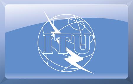International Telecommunication Union Flag Stock Vector - 27699856