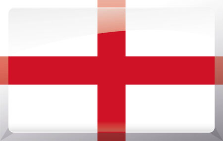 Flag of England, St Georges Cross Illustration