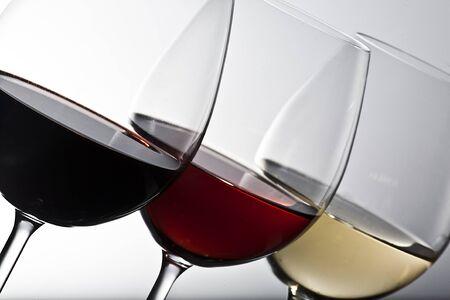 Drei Gläser Wein Standard-Bild - 11509616
