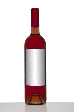 Isolated wine bottle Standard-Bild
