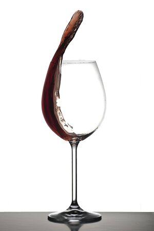 Weinflasche und Glas Standard-Bild - 11750003
