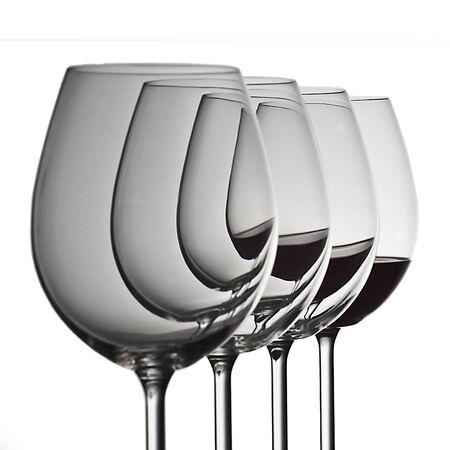 Gläser Wein Standard-Bild - 11750210