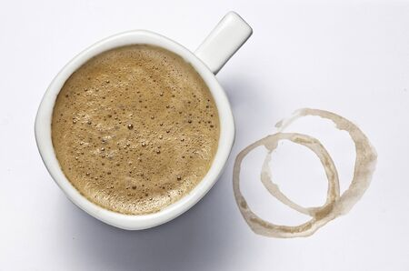 Kaffeetasse Standard-Bild - 12704221