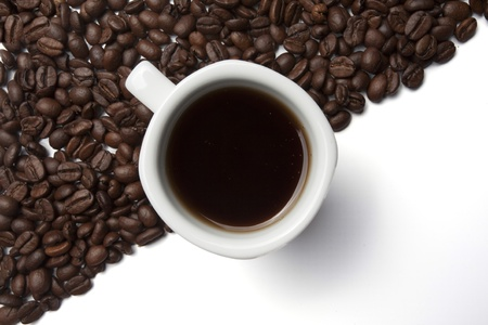 Kaffeetasse Standard-Bild - 12704502