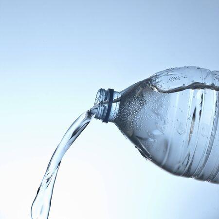 Bottiglia di acqua vuota