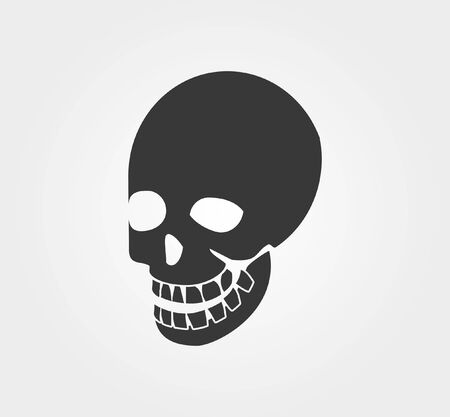 sullen: Simple web icons: skull
