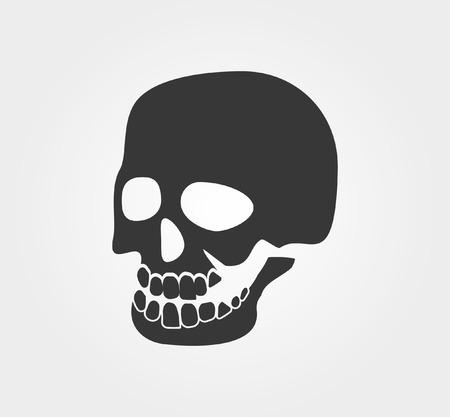 sullen: Simple web icons: skull