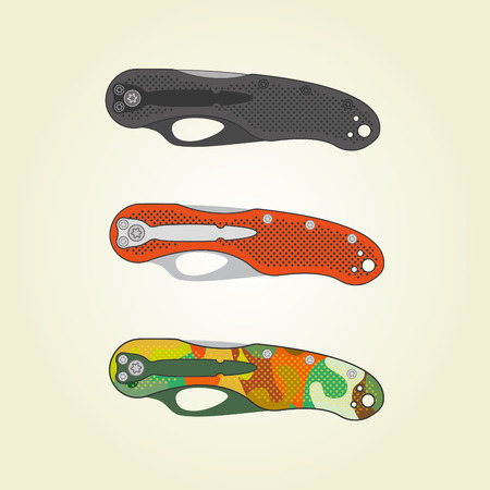 penknife:    Folding pocket knives