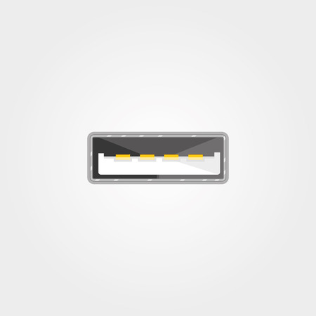 serial: Simple icon: Universal Serial Bus