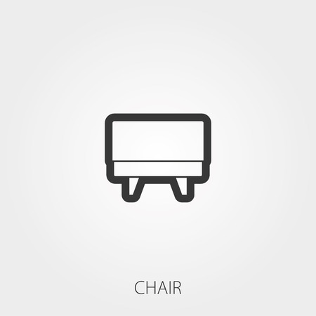 upholstered: Simple Household Web Icons: Upholstered furniture