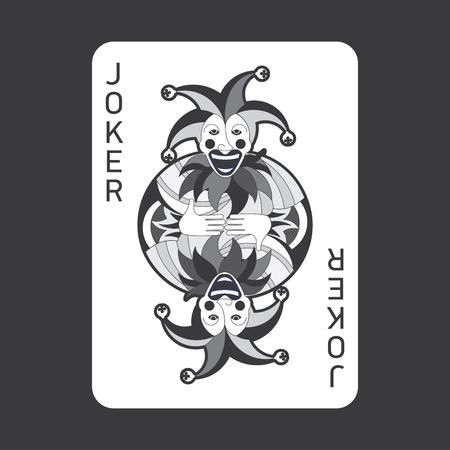 joker playing card: Single playing cards vector: Joker