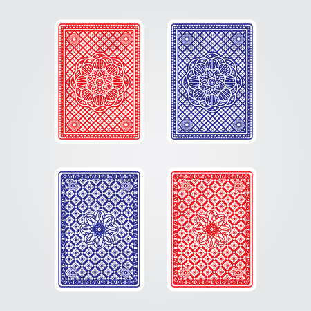 deck of cards: Playing Cards Back