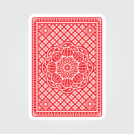 Spielkarten Zurück Standard-Bild - 49319355