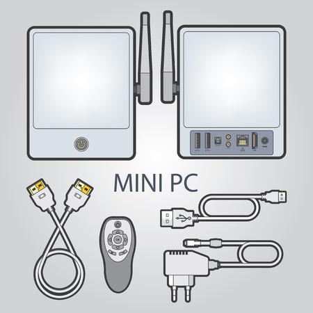 ip: Mini computer Illustration