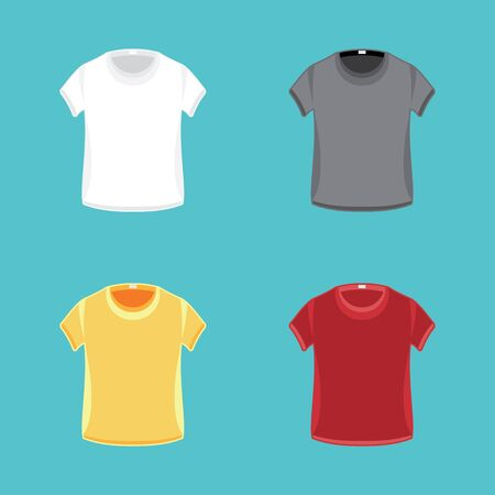 t background: Vector Pattern t-shirts ready to spray images. Design template.