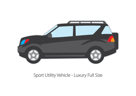 variants: Vector illustration of types of cars. Variants of car body.