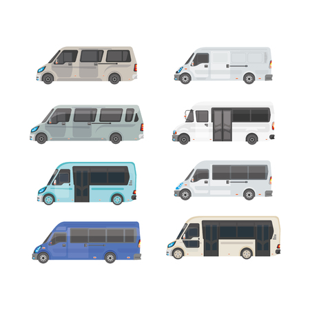 Urban transport. Shuttle buses for the city.