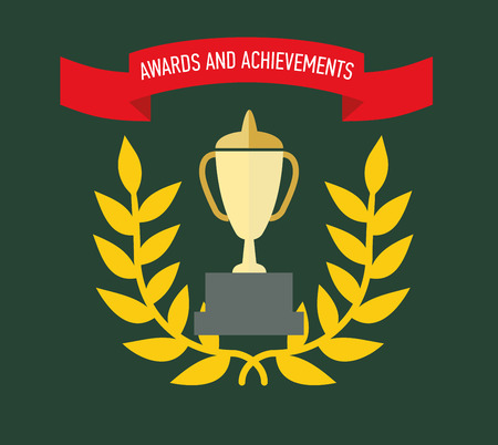 Medals and the rewards for achievements or completed assignments Ilustração