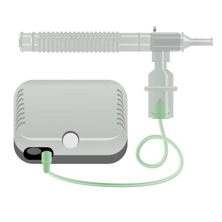 Illustration of a Nebulizer