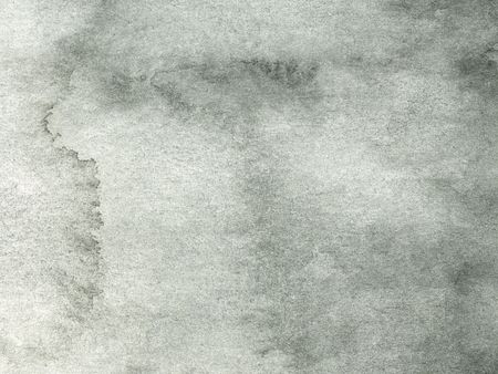 gray abstract watercolor background on white paper