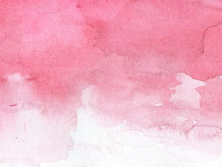abstract red and pink watercolor background Stock Photo
