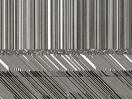 abstract patroon van afdruk fout op de computer is gemaakt