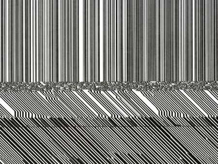 abstract pattern created from printing error on computer