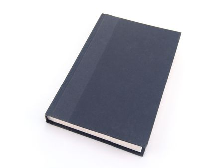 hard cover book isolated on white background