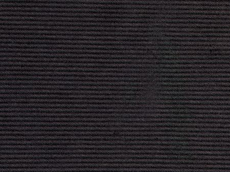 scan of stripped woven black textured fabric Stock Photo