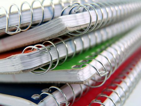 spiral notebook photo