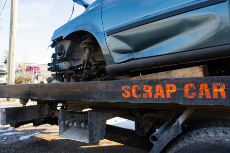 salvage yards: used car recycling is popular for parts and scrap metal.