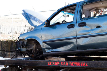used car recycling is popular for parts and scrap metal.