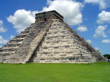 El Castillo, Chichen Itza, Yucatan, Mexico Stock Photo