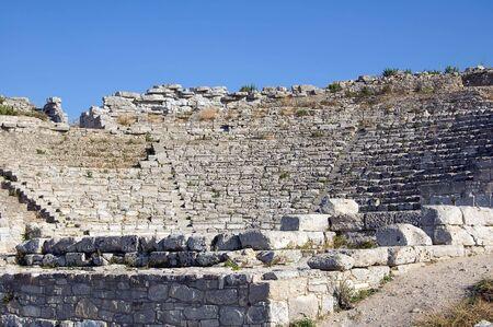 segesta: The Theater of Segesta (3th century BC); Sicily, Italy