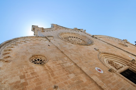 Ostuni Cathedral in the Old Town (the White City), Puglia, Italy