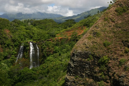 Hawaii Waterfall on Kauai photo