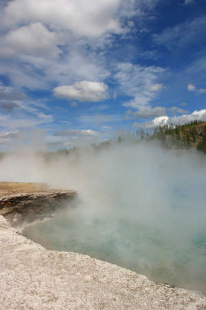 Yellowstone Geyser Thermal Feature Stock Photo - 13138840