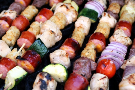 Shish Kabobs Stock Photo - 13147144