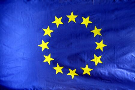 Flag from the EU photo