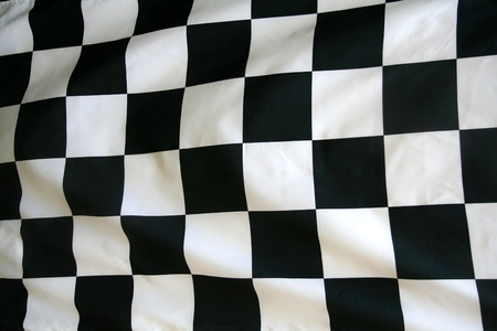 Checkered Race Flag photo