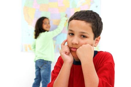 초등학교 교실에서 학생들 스톡 콘텐츠