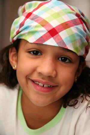 bandana girl: Fille avec un bandana sur