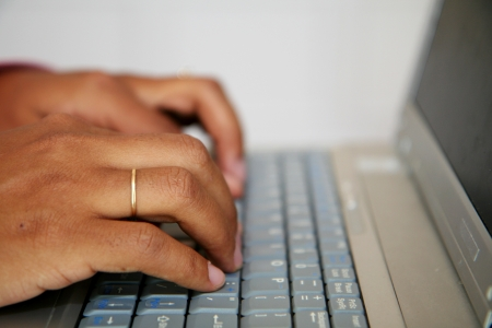 expertise: Woman on the computer