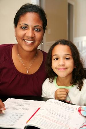 Child at homeschool photo