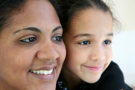 Woman with her daughter Stock Photo - 13597686