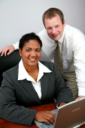 Business Team working together Stock Photo - 13299543